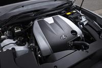 「RC350」の3.5リッターV6ガソリンエンジン。「RC」シリーズにはこのほか、2.5リッターガソリンエンジンとモーターを組み合わせたハイブリッドモデル「RC300h」がラインナップされる。