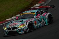 GT300クラスはNo.4 GSR 初音ミク BMW(谷口信輝/片岡龍也組)が制した。こちらも今季初優勝。