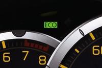 メーター内に設けられたECOインジケーター。全グレードに標準装備される。