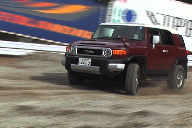 トヨタFJクルーザー(4WD/5AT)【動画試乗記】