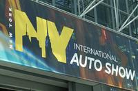 2014年4月16日に開幕したニューヨーク国際自動車ショー。一般公開は18日から行われる。