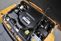 2011年12月(発売は翌年1月)の改良で、新たに搭載された3.6リッターV6 DOHCエンジン。それまでの3.8リッターV6 OHVと比べ、最高出力が約40%向上している。
