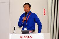 日産名車再生クラブの代表である木賀新一氏。
