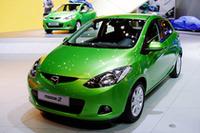 2007年ジュネーブショーで初お目見えとなった「Mazda2」。