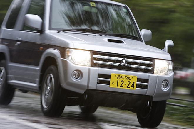 三菱パジェロミニ・ナビエディションVR(4WD/4AT)【試乗記】