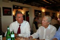 フェラーリ・クラシケで。ピエロ・フェラーリ副会長と
