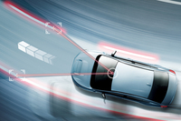 操舵支援機能である「アクティブレーンキープ」は、車速65km/h以上、かつクルーズコントロールをセットした状態でのみ作動する。