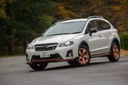 スバルXVハイブリッドtS(4WD/CVT)【レビュー】