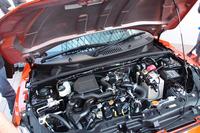 エンジンはターボのみで、自然吸気の設定はない。