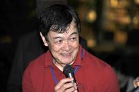 『CAR GRAPHIC』主催のイベント「ミッドナイトTTD」での川上さん(2012年5月)。
