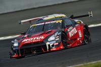 GT500クラスで勝利をおさめた、松田次生/ロニー・クインタレッリ組のNo.1 MOTUL AUTECH GT-R。