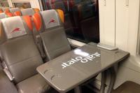イタロのエコノミークラスである「スマート」。それでもシートは、上級クラスと同じポルトローナ・フラウレザー×ジウジアーロデザインである。