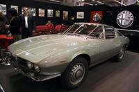 伊アレーゼのアルファ・ロメオ博物館から持ち込まれた1965年「スプリント・スペチアーレ・プロトタイプ」。デザインはベルトーネ。