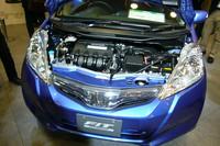 1.3リッターエンジンは、フリクションロスの低減などにより、さらに燃費性能が高められた。