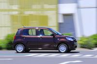 """3代目となる新型「ダイハツ・ブーン」。標準車に加え、ドレスアップモデルの「ブーン シルク」も用意されている。今回は標準車の「X""""SA II""""」に試乗した。"""