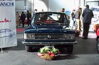 「アウトビアンキA112」 アウトビアンキ保存会(レジストロ・アウトビアンキ)は、「A112」と「A111」40周年を祝って参加。