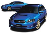 スバル、「レガシィ」シリーズと「フォレスター」にもWRC記念車の画像