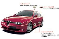 【Movie】アルファ156GTAの「BOSEサウンドシステム」