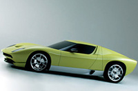 【デトロイトショー2006】名車復刻、「ランボルギーニ・ミウラ・コンセプト」公開