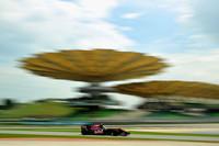 このレースの敢闘賞は、トロロッソのハイメ・アルグエルスアリに。予選14番手からルノーのビタリー・ベトロフ、ウィリアムズのニコ・ヒュルケンベルグら実力が並ぶマシンを相手に奮闘し9位完走、自身初ポイントを獲得した。(写真=Toro Rosso)