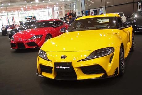 2019年5月17日、トヨタのFRスポーツカー「スープラ」の新型が国内で発売された。発表の場となった東京・青...