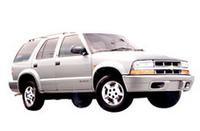 「シボレー・ブレイザー」の2002年モデル発表の画像
