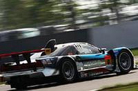 GT300クラスで優勝したNo.0 EBBRO M-TEC NSX。13コーナーで。
