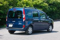 「ルノー・カングー」は、欧州では主に商用車として活躍している。