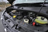 2.3リッターの直4ターボディーゼルエンジン(125ps)が搭載される。