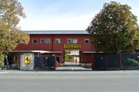 イタリア・モデナにあるフェラーリ本社工場正門。