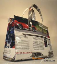 マセラーティー95周年記念エコバッグは、カタログ再生!?