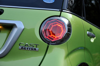 キャストには「アクティバ」「スタイル」「スポーツ」の3種類のモデルが用意されている。今回は、SUVライクなスタイリングが特徴のアクティバに試乗した。