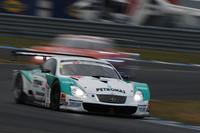 GT500クラス2位でフィニッシュ。シリーズチャンピオンを決めたNo.36 PETRONAS TOM'S SC430(脇阪寿一/アンドレ・ロッテラー組)