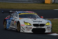 No.7 Studie BMW M6(ヨルグ・ミューラー/荒 聖治)。昨年の「Z4」に代わる新たなマシンで、クラス3位の座をもぎとった。