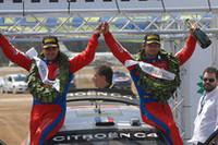 「シトロエン C4」を駆るセバスチャン・ローブは今季5度目の優勝を果たした。