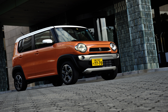 スズキ・ハスラー Xターボ(4WD/CVT)/ハスラー X(FF/CVT)【試乗記】