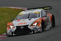 No.36 au TOM'S RC F(伊藤大輔/ニック・キャシディ)。予選11位からのスタートで、2位入賞を果たした。