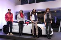 セレモニーでは、ランボルギーニ・コレッツィオーニの秋冬ファッションショーも開催された。