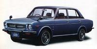 72年11月、1300シリーズの象徴たるDDACエンジンを、シビックのそれを拡大した水冷直 4SOHC1433cc・80psエンジンに換装した「145シリーズ」が登場。画像は「145セダン・カスタム」で、パワートレインを除いては基本的に 1300セダンに準ずる。価格は65万8000円。