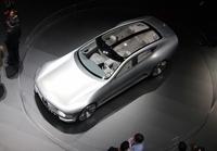メルセデス・ベンツのコンセプトカー「コンセプトIAA」。