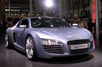 アウディAG、新型スポーツカー「R8」を2007年にリリースの画像