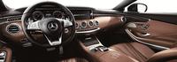 「S65 AMG クーペ」のインストゥルメントパネル。