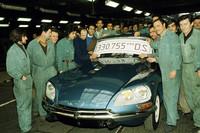ジャヴェル工場から最後の「DS」ラインオフ。(写真=Citroen Communication)