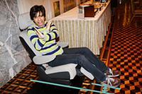 オットマンシートの正しい座り方を知ってますか?