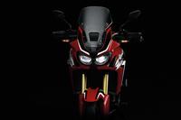 新型二輪車の「ホンダCRF1000Lアフリカツイン」。