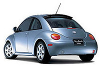 VW「ニュービートルターボ」発売の画像