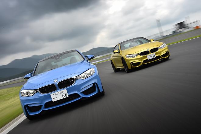 BMW M3セダン(FR/7AT)/M4クーペ(FR/7AT)【試乗記】