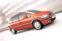 【スペック】オペル・ザフィーラCDX(4AT):全長×全幅×全高=4315×1740×1675mm/ホイールベース=2695mm/車重=1420kg/駆動方式=FF/1.8リッター直4DOHC16バルブ(125ps/5600rpm、17.3kgm/3800rpm)/車両本体価格=289.0万円
