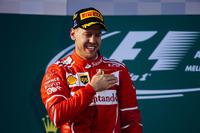 2017年の開幕戦オーストラリアGPを制したフェラーリのセバスチャン・ベッテル。(Photo=Ferrari)