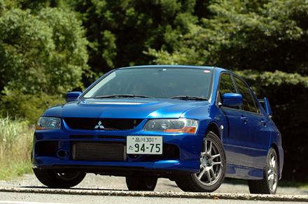 三菱ランサーエボリューションIX GT(5MT)【ブリーフテスト】